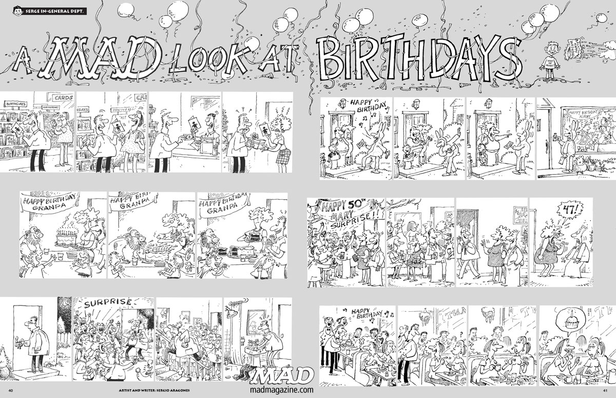 Image: A Mad Look at Birthdays