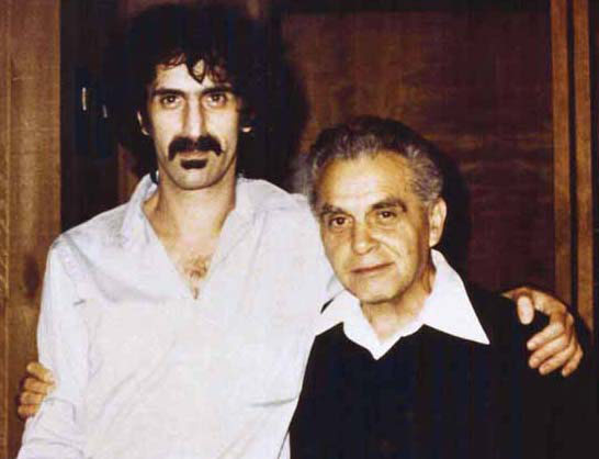 No fooling!  It's a picture of Zappa and Kirby!