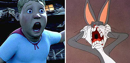 Image: Monster House vs. Bugs Bunny